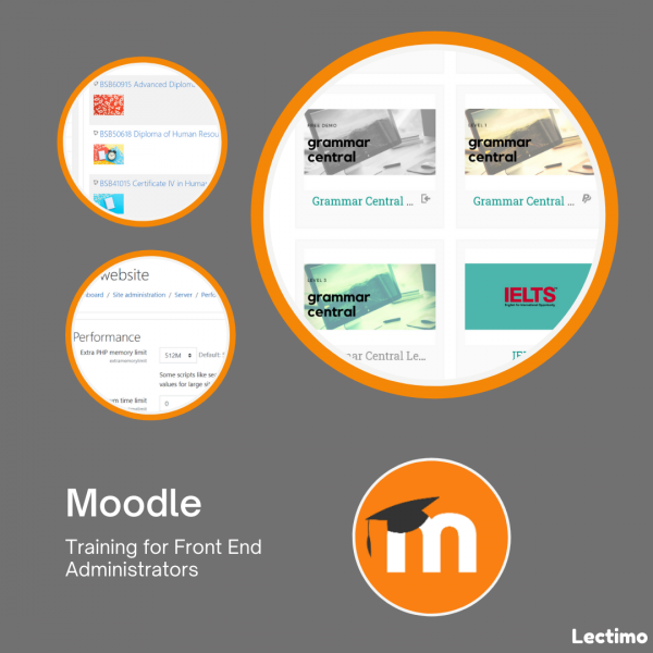 Moodle Front end Administrator Training by Lectimo